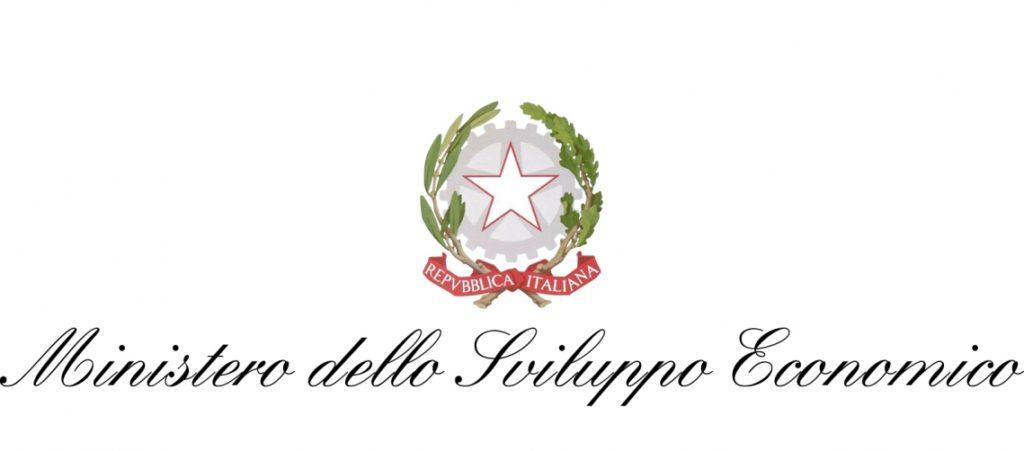 Logo Ministero dello Sviluppo Economico